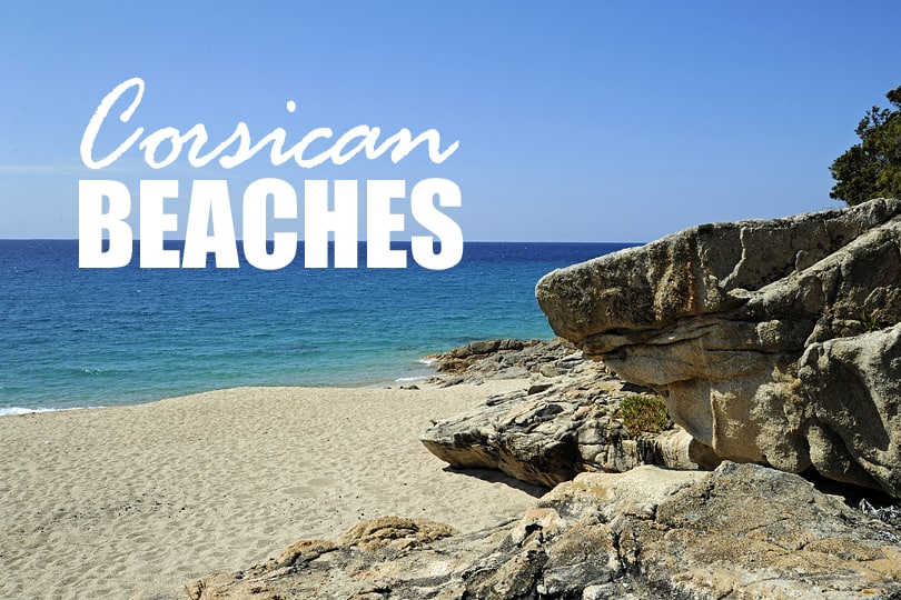 best beaches south corsica