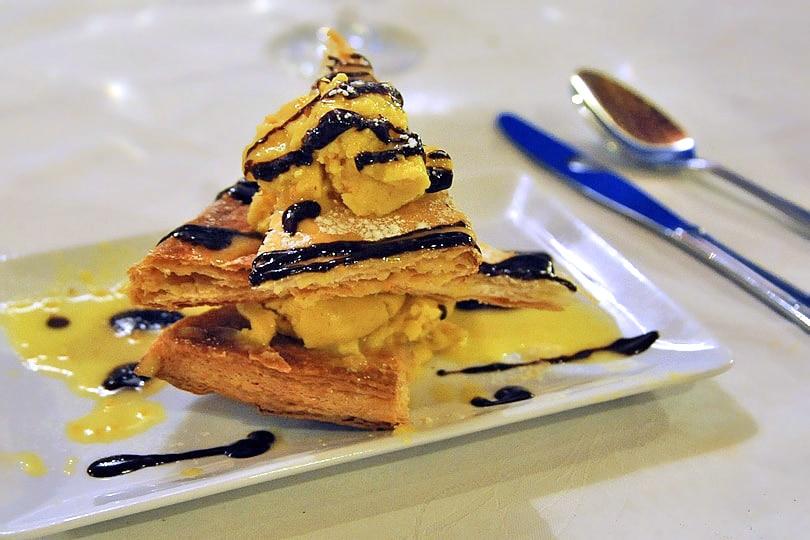 Feuillete clementine, Corsican dessert