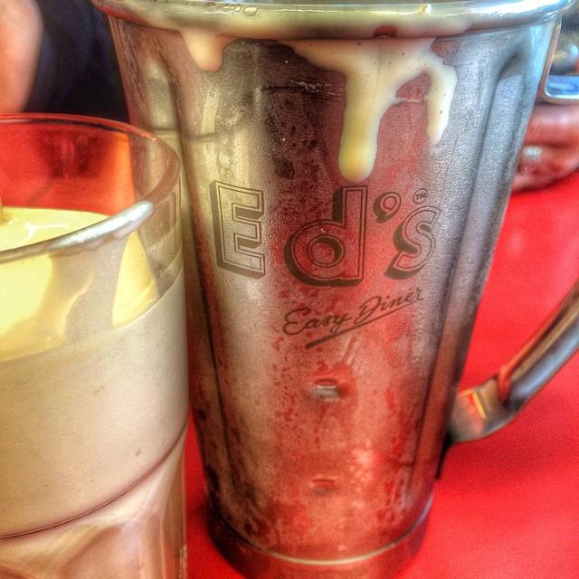 Ed's Baileys milkshake for brunch! #yum