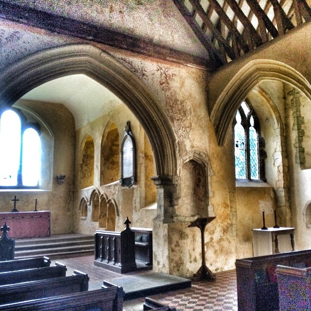 Beautiful old church in North Stoke #WestSussex #England
