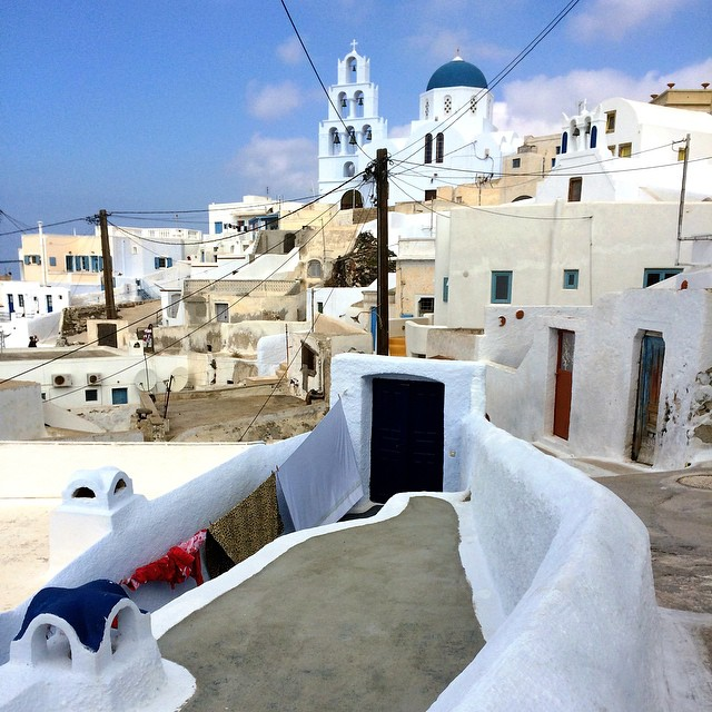 Last day in Greece spent visiting ancient village of Pygros. #Santorini #Greece #travel #ttot #travelpics #travelblogger