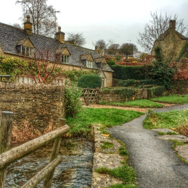 Upper Slaughter yep! That's the village's name #Cotswold #England