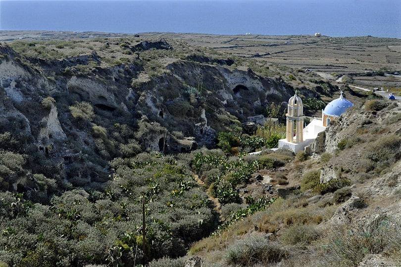 Akrilia (Agrilia) Thirassia, Santorini, Greece