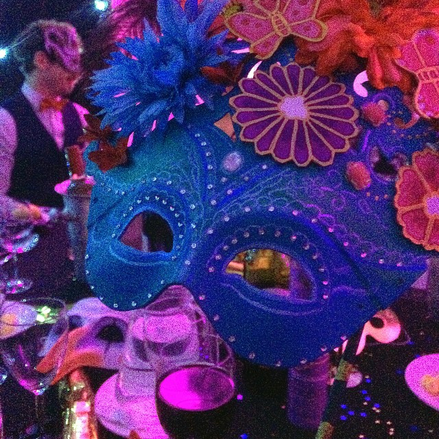 Fabulous evening at the Mistletoe Masquerade last night. #London