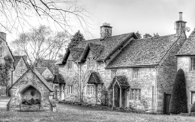 The Cotswolds in Black and White
