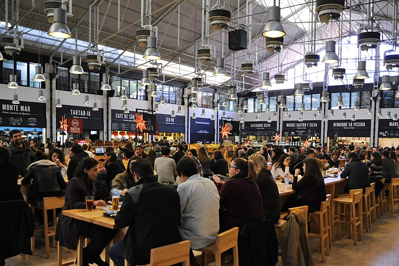 Mercado da Rebeira, Cais do Sodré, Lisbon