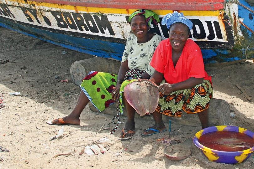 Sanyang fishing village, Gambia