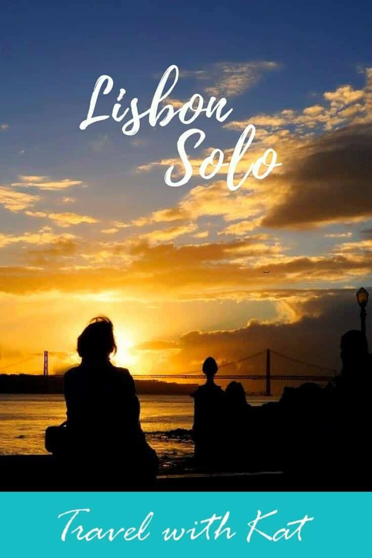 Is Lisbon safe for solo female travellers? l think it's the perfect location for your first solo adventure