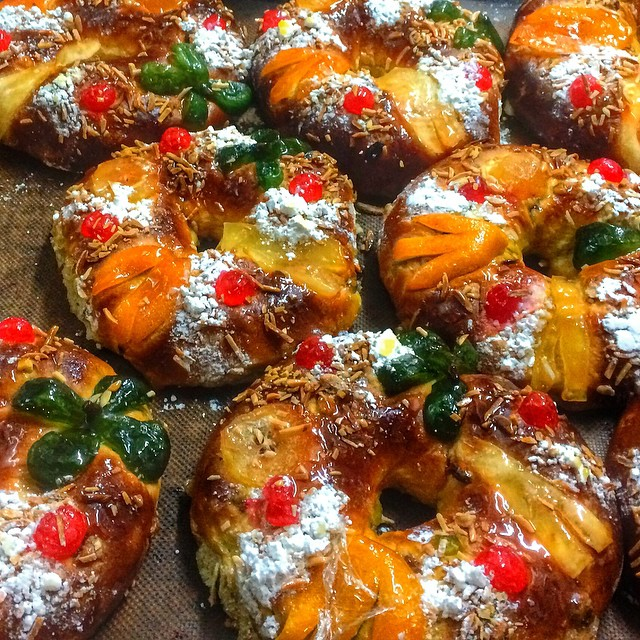 It wouldn't be #Christmas in #Portugal without Bolo Rei (Portuguese King Cake) #travel #foodporn