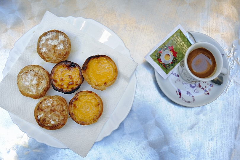 Pastel de nata, best food and drink Lisbon