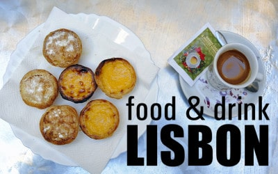 From pastel de nata to ginjinha liqueur, join me on an edible tour of Lisbon