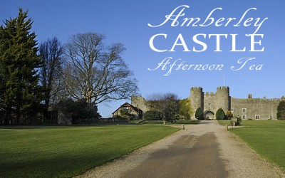 Amberley Castle, the best afternoon tea in Sussex