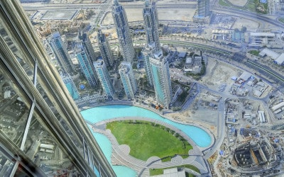 Falling for the skyscrapers of Dubai