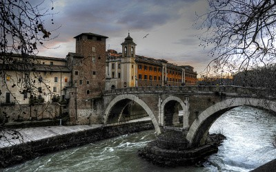 The romance of Rome by twilight