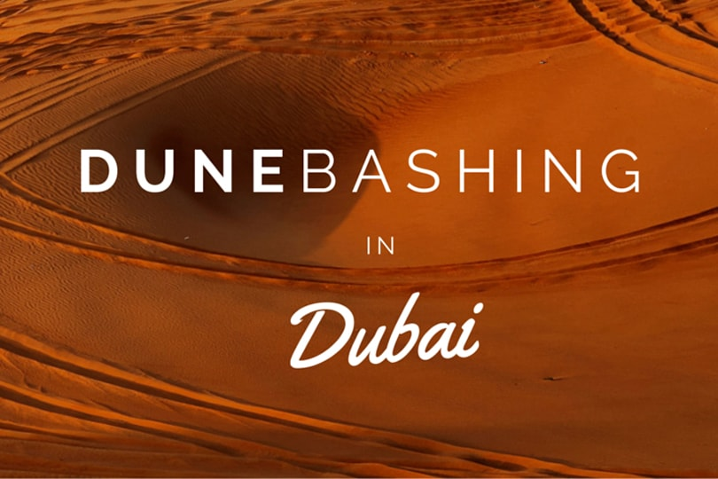 Video: Dune Bashing Desert Safari, Dubai