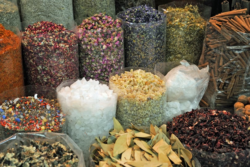 The spice souks of Dubai