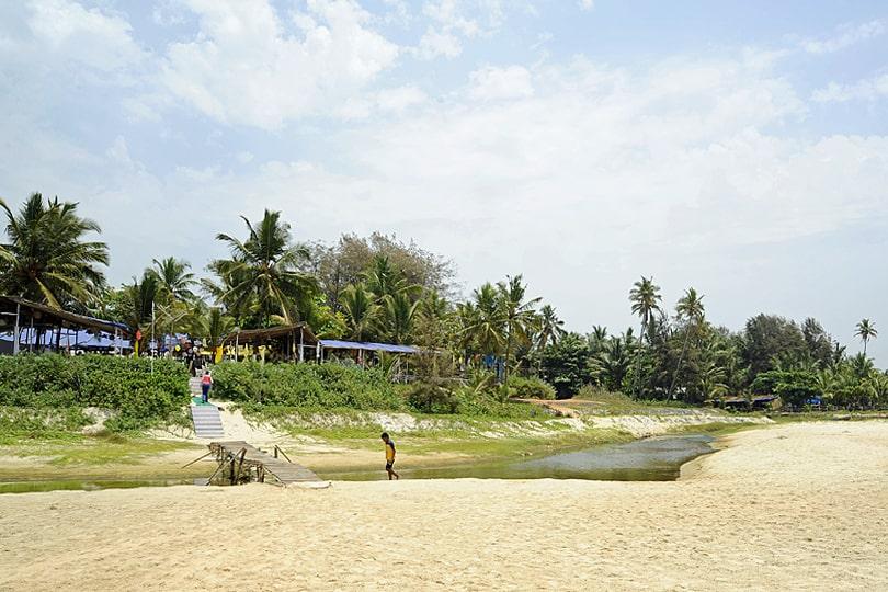 Zeebop beach shack, Goa, India