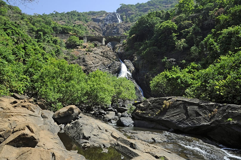 The Dudhasgar Falls, Mollem National Park, Goa
