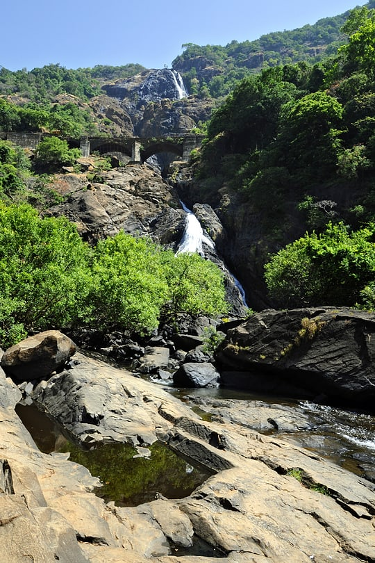 Dudhsagar Falls, Goa, india