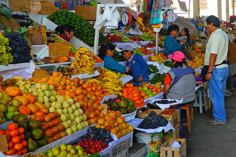 Mercado Central de San Pedro, Cuzco, Peru