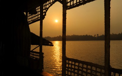 Unwind on a houseboat on the Chapora River, Goa
