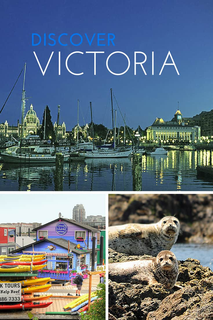 Victoria, British Columbia - a city on the edge of nature