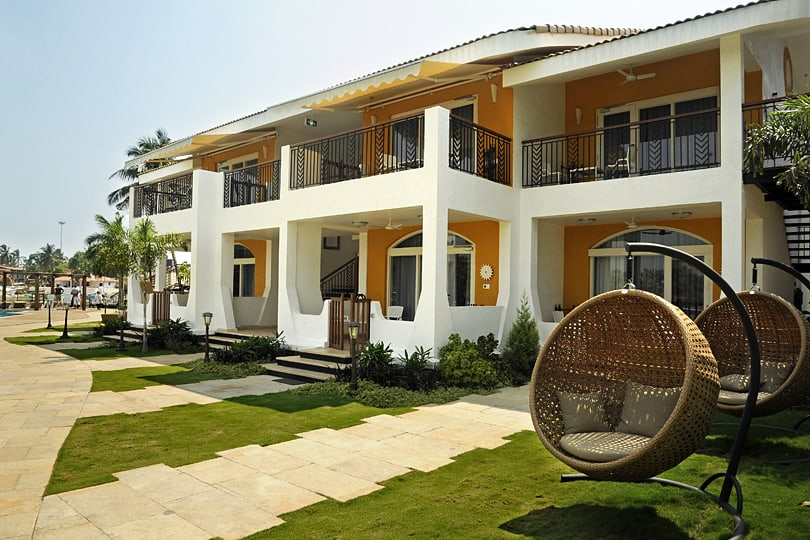 Top 6 hotels in Goa - Acron Waterfront Hotel, Baga, Goa