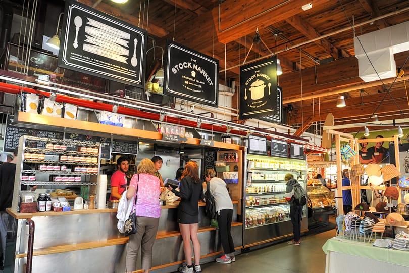 The Public Market, Granville Island, Vancouver