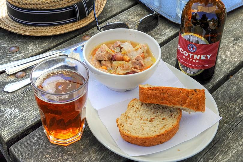 Pork casserole with Scotney Bitter