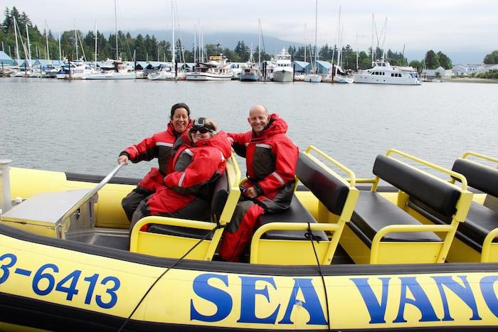 Sea Vancouver zodiac tour of Vancouver Harbour and False Creek