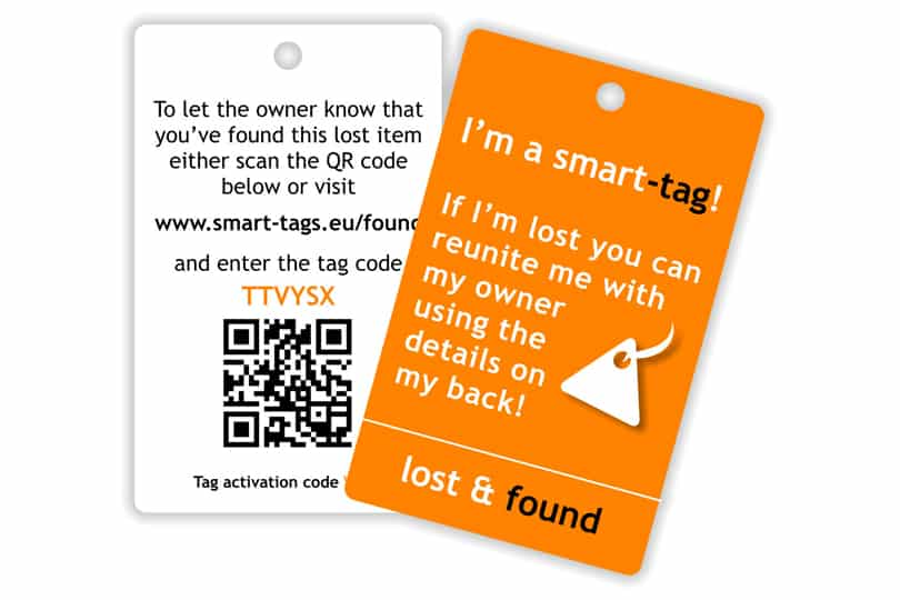 Smart tags for your luggage