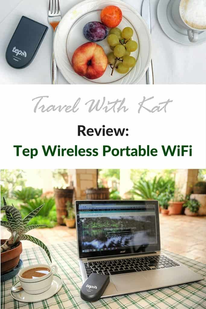 Review: Tep Wireless Portable WiFi, keeping you connected on your travels