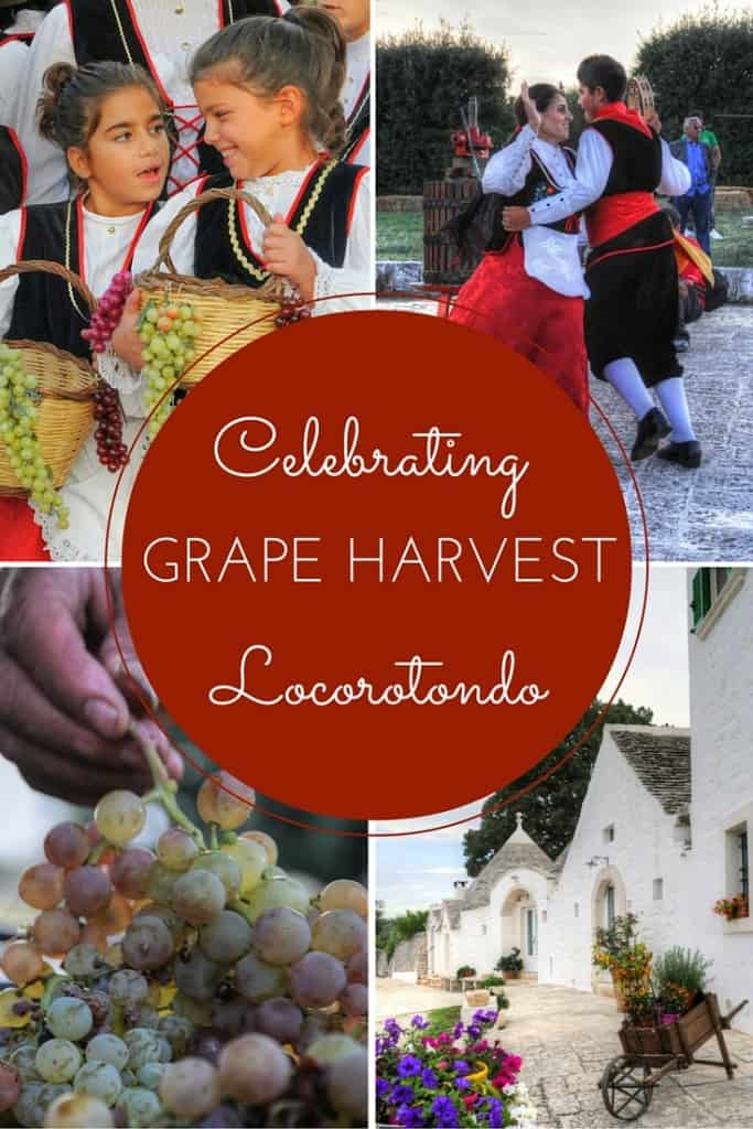 Celebrating the grape harvest, Locorotondo, Valle D'Itria, Puglia