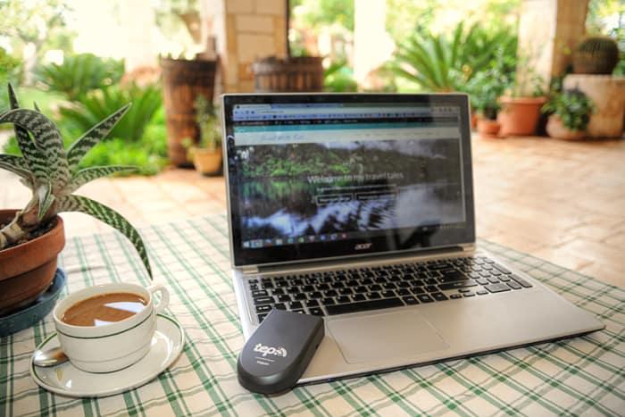 TEP portable WiFi around the world