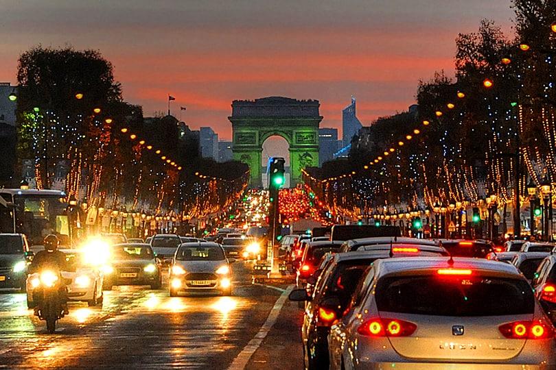 Paris, the City Of Lights - travel photo roulette round 117 - Light