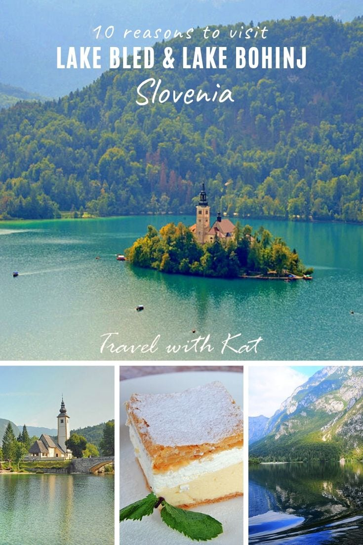 top 10 reasons to tvisit Lkae Bled and Lake Bohinj, #Slovenia | #LakeBled #LakeBohinj