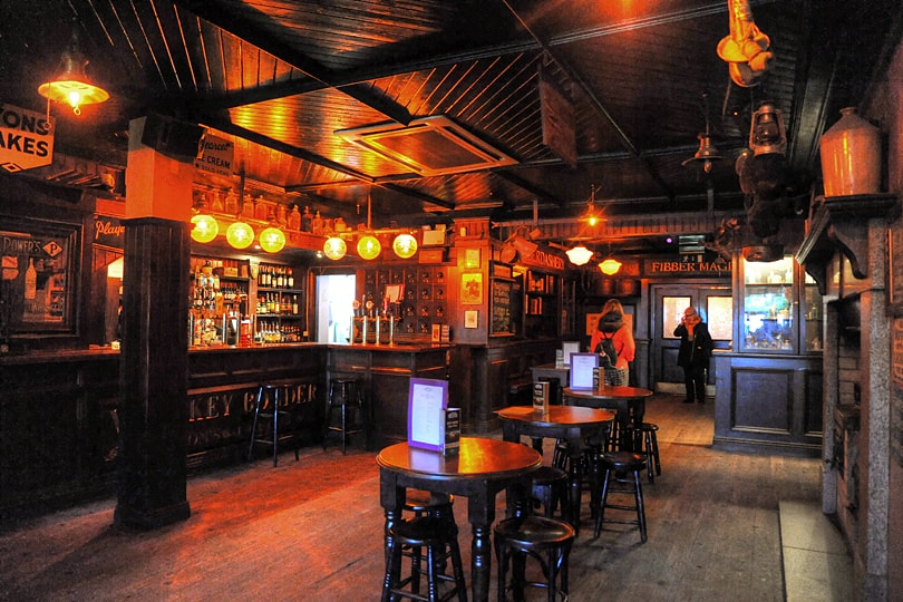 Visit Fibber Magees for traditional Irish music in Belfast