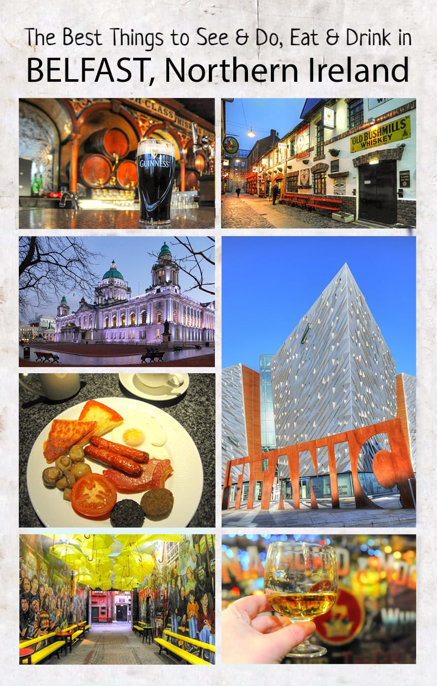 Top things to see and do, eat and drink in #Belfast #NorthernIreland