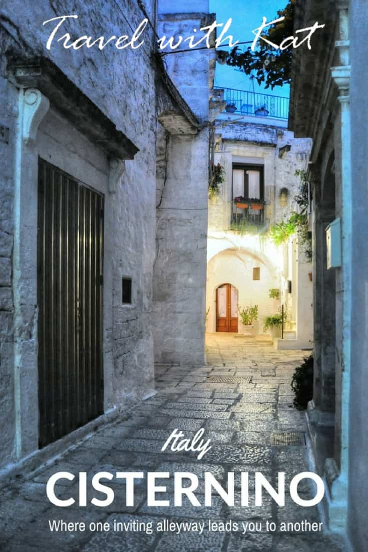 Discover the beautiful Italian town of Cisternino, where one enchanting alleyway leads on into another