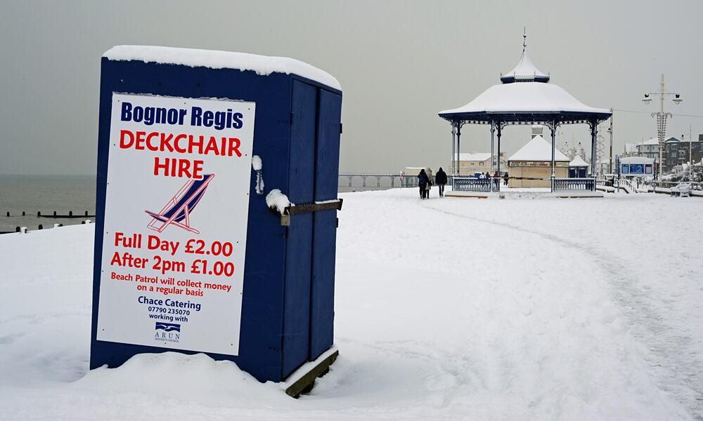 Bognor deck chairs
