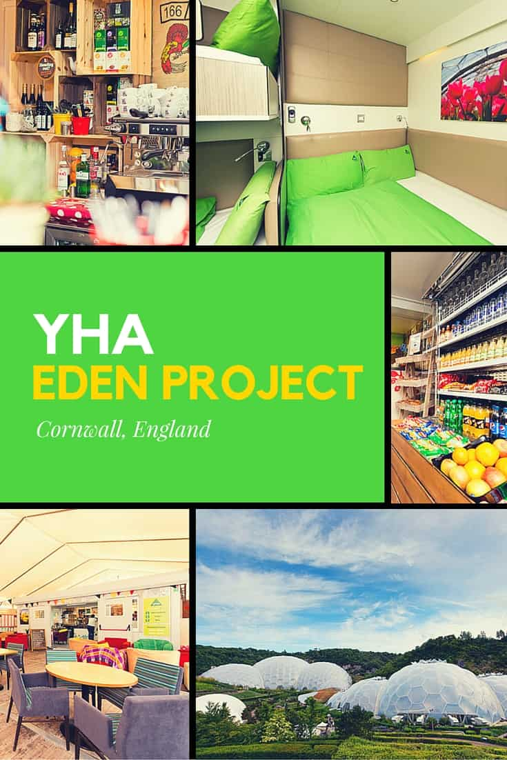 Review: YHA Eden Project, Cornwall