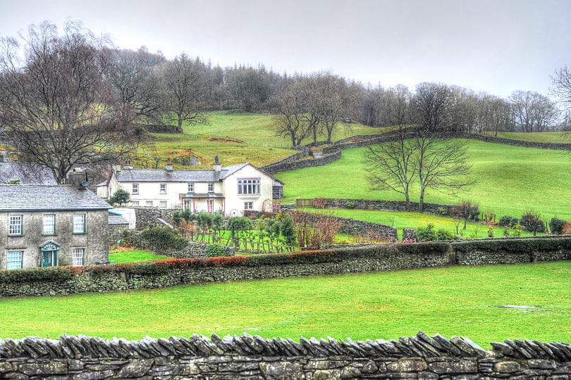 Beatrix Potter's home in the Lake District, Cumbria