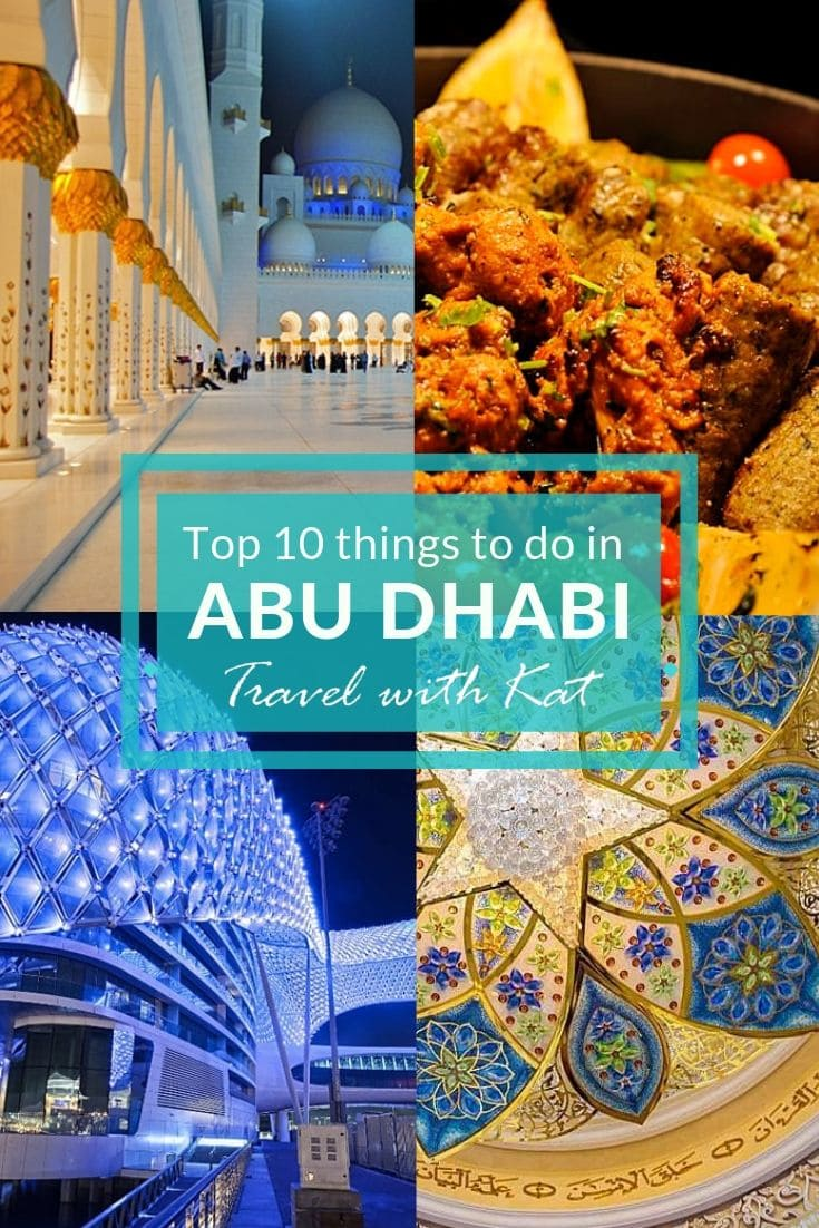 Things to do in #AbuDhabi, #UAE