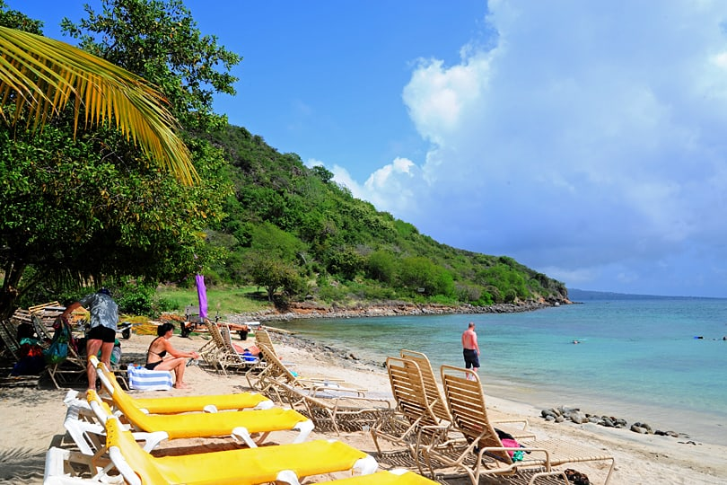 Reggae Beach on St Kitts