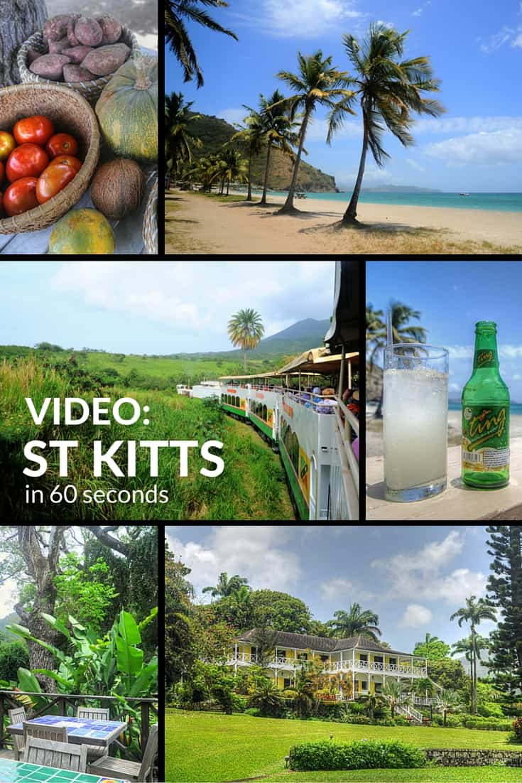 Video: The Caribbean island of St Kitts in 60 seconds