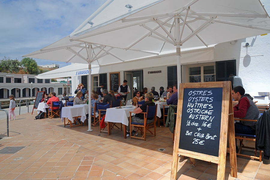 S'Amadora, Ciutadella, one of the best restaurants in Menorca