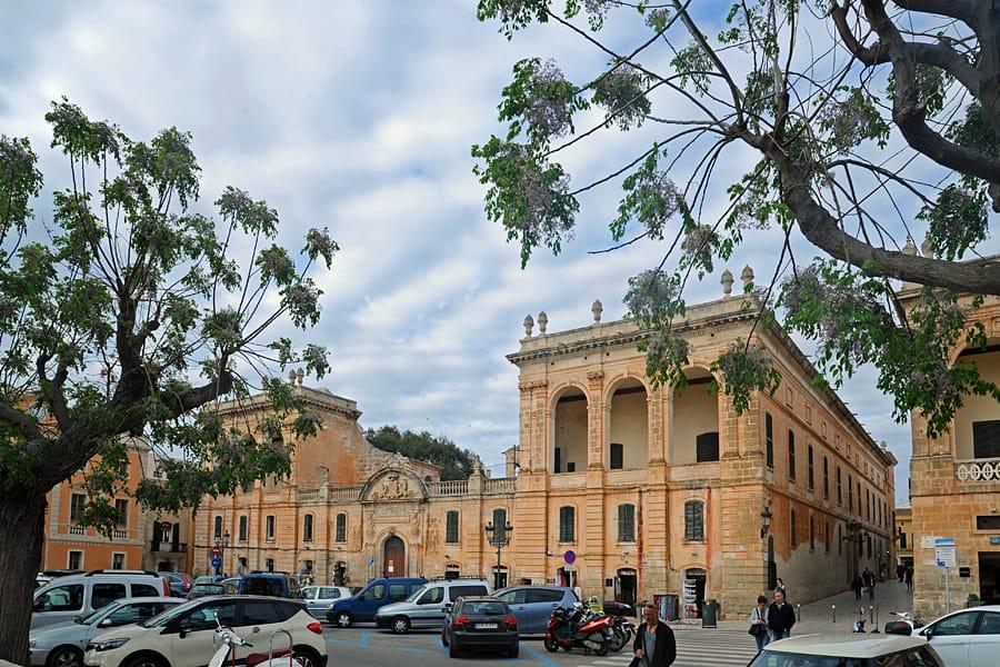 Plaça des Born, Ciutadella, Menorca, Spain