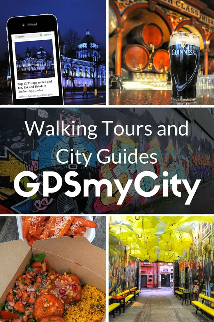 Downloadable walking tours and city guides from GPSmyCity
