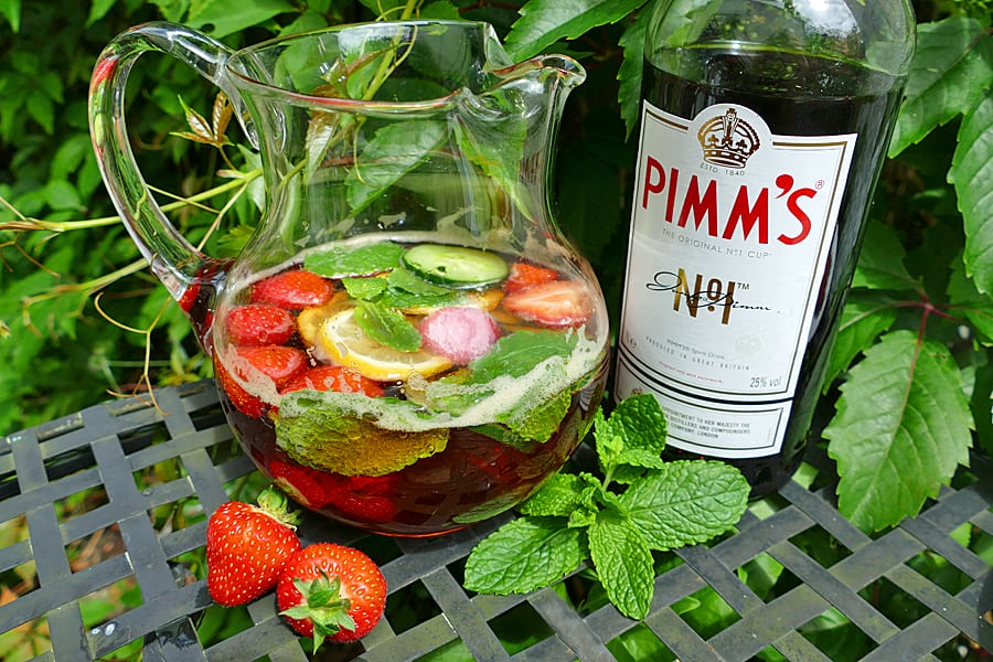 Pimms No.1, the iconic English summer cocktail