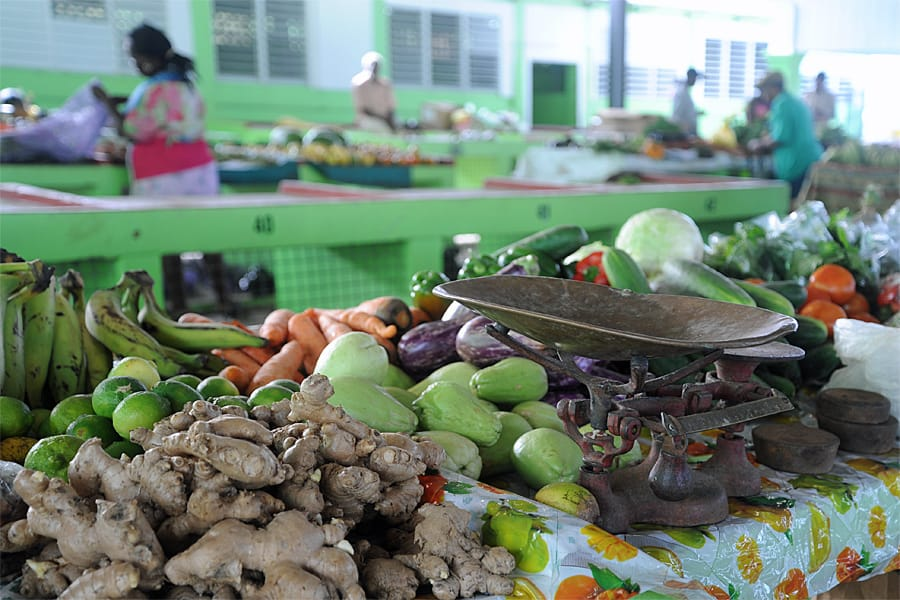 Basseterre Public Market, St Kitts